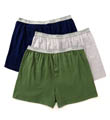 Fruit Of The Loom Big Man 100% Core Cotton Assort Knit Boxer- 3 Pack 3P722X
