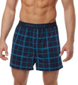 Perry Ellis Luxe Dotted Square Print Boxer Short 163030