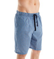Perry Ellis Woven Mini Plaid Sleep Short 925324
