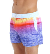 2xist Photo Real Sunset Stretch Swim Trunk 120012