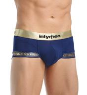 Intymen Gold Trim Contour Pouch Stretch Trunk 5602