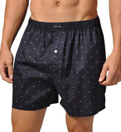 Tommy Hilfiger Micro Flag Basic 100% Cotton Woven Boxer 09T0010