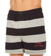 Tommy Hilfiger Rugby Stripe Basic 100% Cotton Knit Boxer 09T0023
